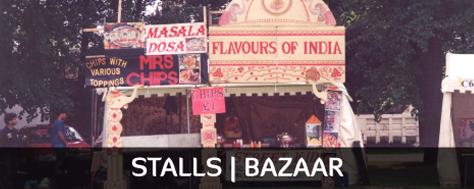 Stalls and Bazaar